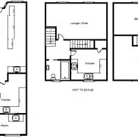 Floor Plan of Fish and Chip Shop for Sale in Northam